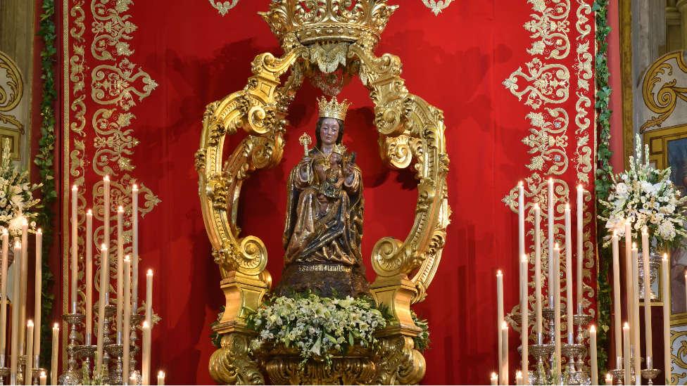 La Virgen de la Victoria no saldrá a las calles malagueñas el próximo mes de septiembre