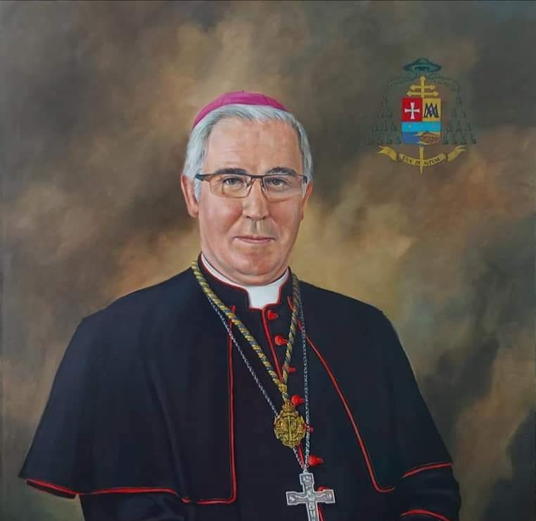 César Ramírez realiza un espléndido retrato del arzobispo