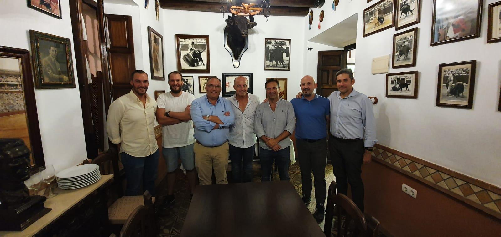 Los capataces de la Hermandad de la Agonía convocan a sus costaleros a la primera igualá fijada en Córdoba con vistas a la Semana Santa de 2022