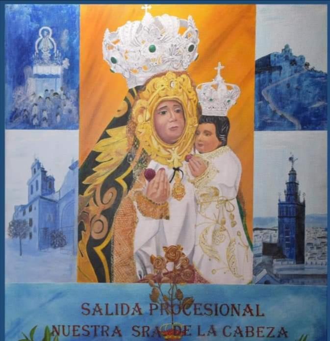 La Real Cofradía de la Virgen de la Cabeza presenta el cartel de la salida procesional