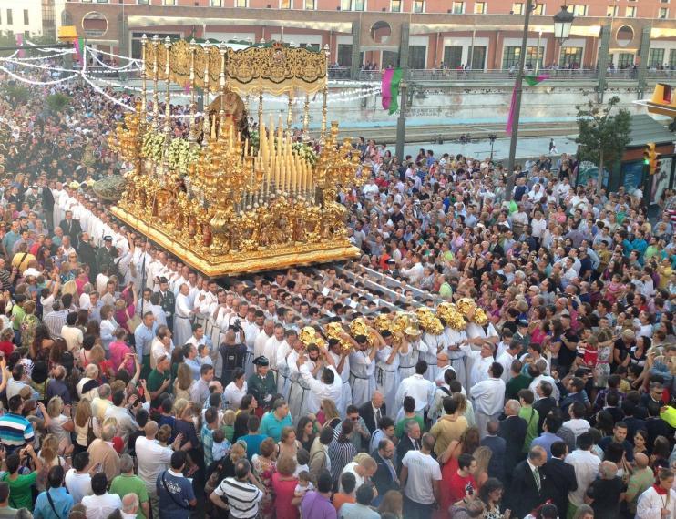 La Agrupación de Cofradías de Málaga plantea el día 30 de octubre como fecha posible para la celebración de la procesión magna con motivo de su Centenario, si las condiciones sanitarias lo permiten