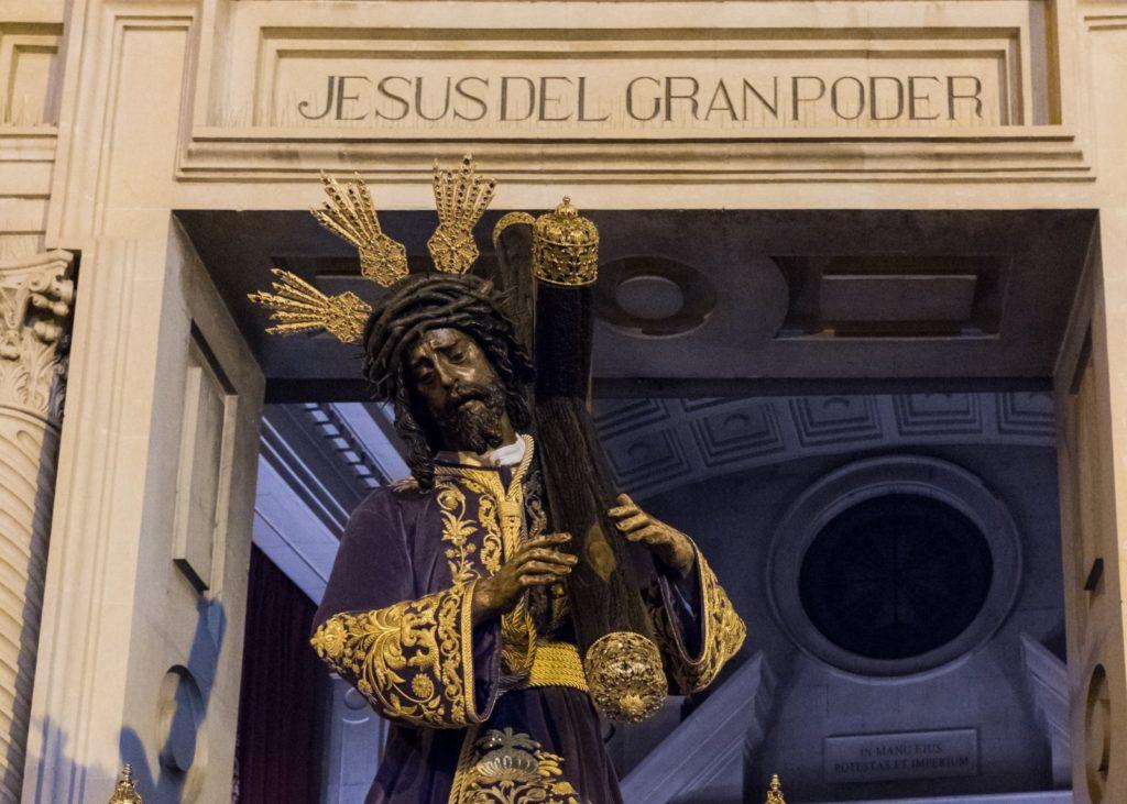 Oficial | El Gran Poder presidirá del 16 de octubre al 6 de noviembre la Santa Misión en Tres Barrios y Amate y regresará a la basílica en su paso