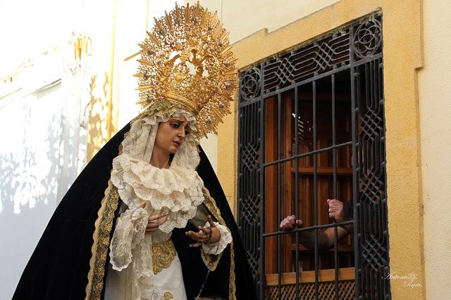 La Soledad saldrá a la calle para el rezo del Santo Rosario «si la autoridad competente no impide su celebración»