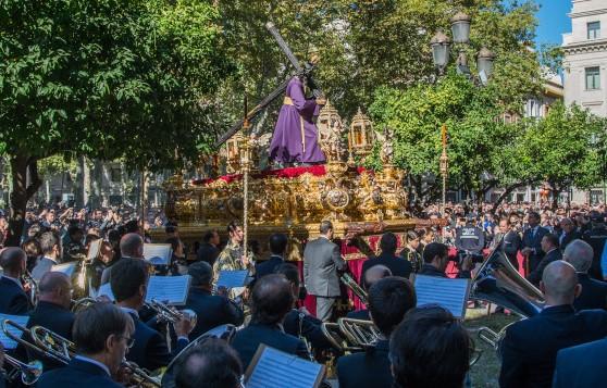 La Banda Sinfónica Municipal interpretará «Soleá dame la mano» y «Macarena» de Cebrian para acompañar el caminar del Gran Poder el 6 de noviembre