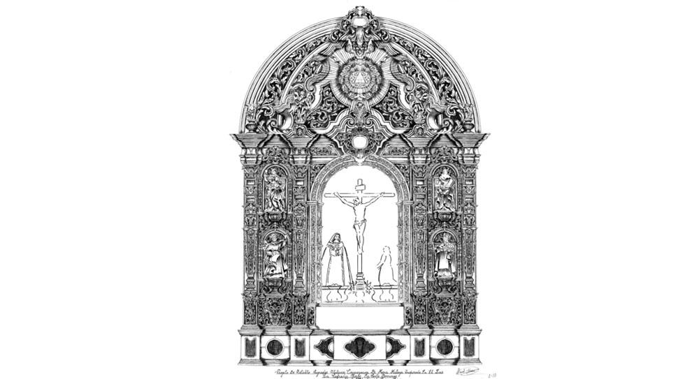 La junta de gobierno de la Congregación de Mena aprueba el proyecto de ejecución de un nuevo retablo para la capilla, una joya en la que participarán numerosos artistas