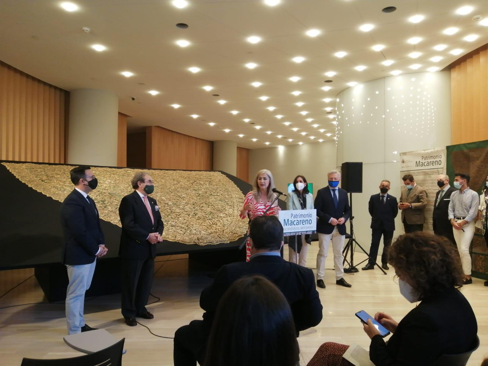 La Hermandad de la Macarena organiza la exposición «Patrimonio Macareno. Los oficios del arte sacro»