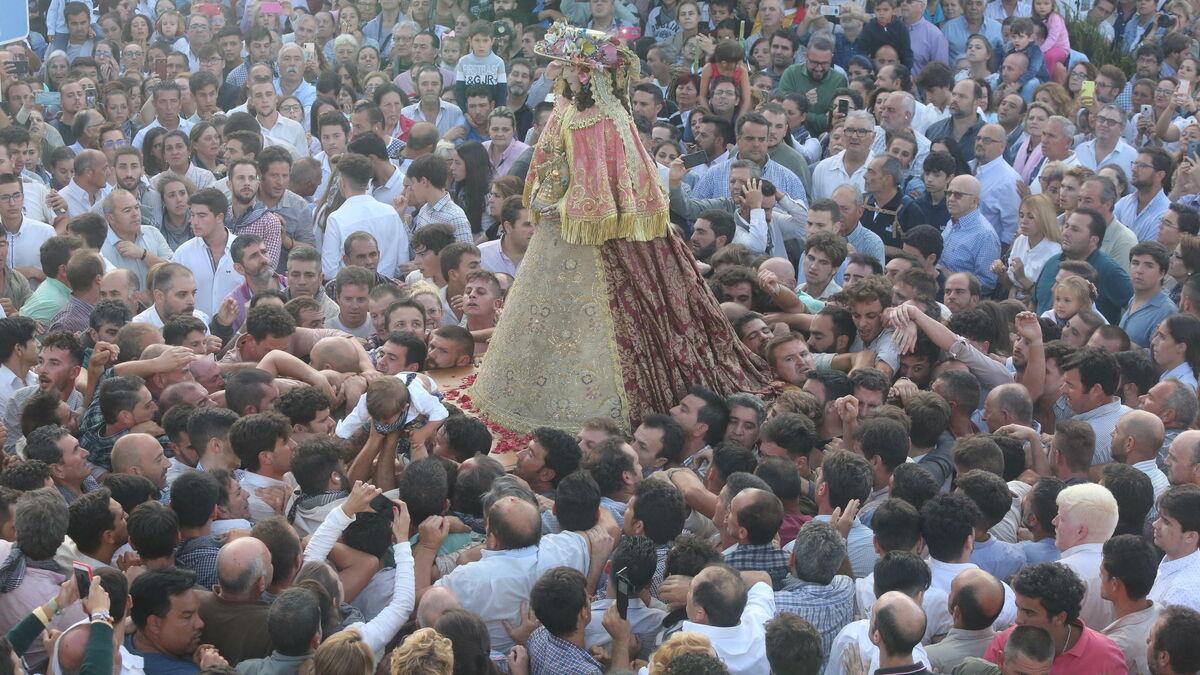La Virgen del Rocío regresará a la aldea en mayo de 2022 si las circunstancias lo permiten