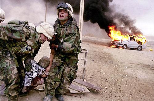 Irak. Cheryl Diaz Meyer, The Dallas Morning News