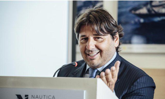 Soci Nautica Italiana al Boot Dusseldorf. Nella foto Lamberto Tacoli