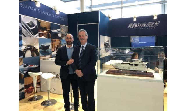 Rizzardi Yachts a Düsseldorf: Corrado e Gianfranco Rizzardi