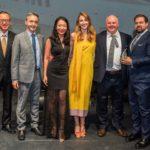 Il team Benetti alla cerimonia di premiazione