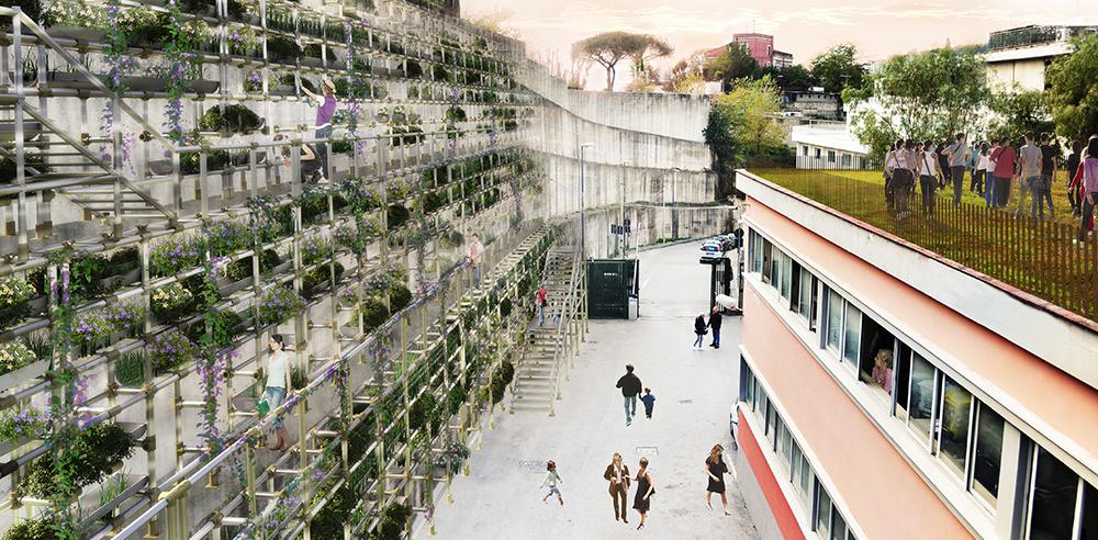 Rigenerazione urbana a Capodichino. Vince In-Nova Studio
