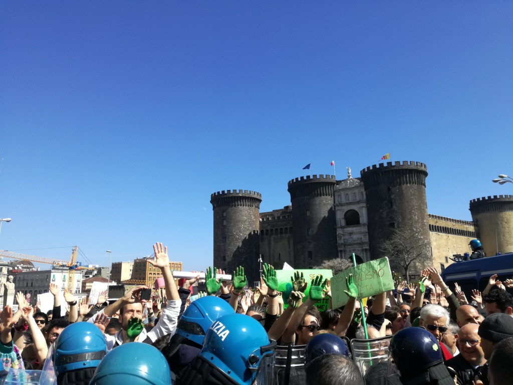 FridayForFuture a Napoli