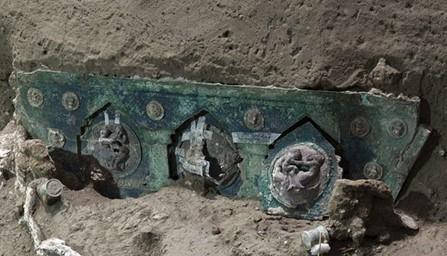Pompei Scavi: ecco il CARRO CERIMONIALE della Giuliana