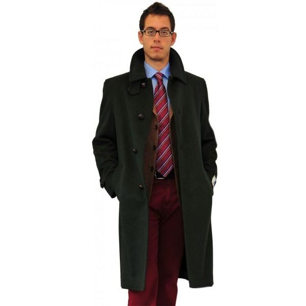 Loden verde, cappotto classico ed elegante