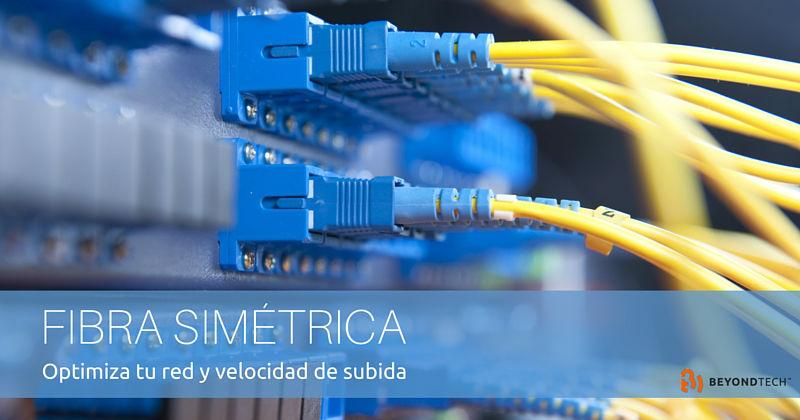 Cómo aumentar tu velocidad de subida con fibra simétrica