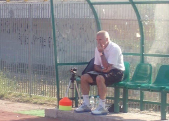 Και στο ρεπό, στο γήπεδο ο Αναστόπουλος…