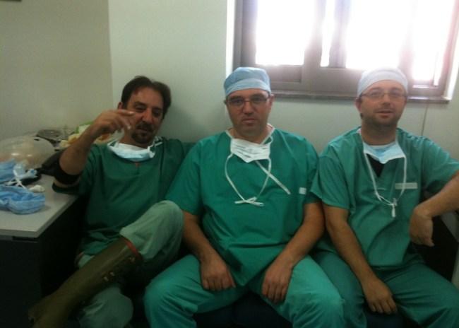 Η συνδρομή των γιατρών του ΟΦΗ στην εγχείρηση του Ρομάνο