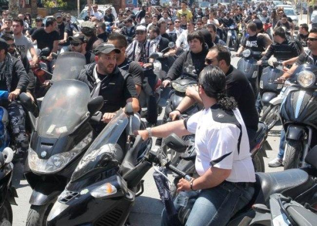 Με μηχανοκίνητη πορεία στο Παγκρήτιο οι οπαδοί του ΟΦΗ