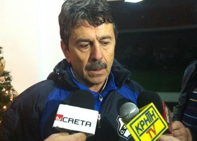 Πετράκης: «Είμαστε κοντά σε αυτό που θέλω»