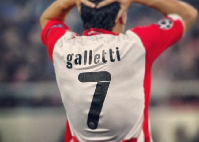 Την φανέλα με το αγαπημένο του 7 ζήτησε ο Λουτσιάνο Γκαλέτι!