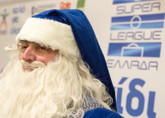 """Ο… Άγιος Βασίλης στην Θύρα 8 του """"Γεντί Κουλέ"""""""