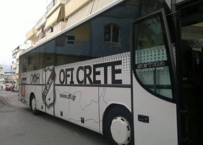 Με το λεωφορείο στην Τρίπολη ο ΟΦΗ