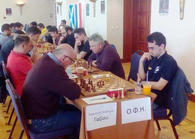 Σκακιστικές εκδηλώσεις του ΟΦΗ