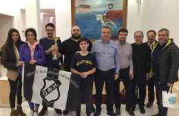 Ο Περιφερειάρχης Κρήτης συνεχάρη τη σκακιστική ομάδα του ΟΦΗ