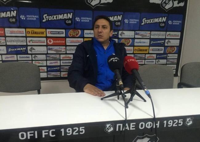 Παπαδόπουλος: «Οι παίκτες είναι μάγκες και κάναν κατάθεση ψυχής»