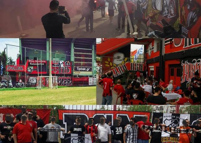 Club Rossoneri: «Καλή επιτυχία στους οπαδούς του ΟΦΗ με κερκίδες-φωτιά»