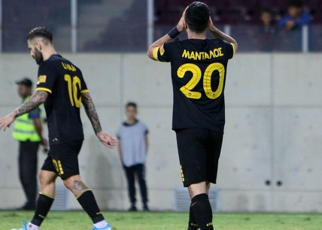 Λάρισα – ΑΕΚ 0-0