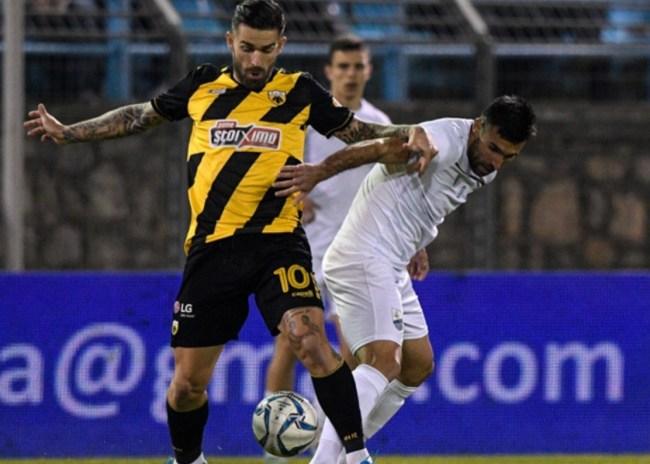 Λαμία – ΑΕΚ 0-0