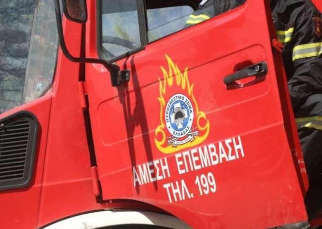Tρία περιστατικά πυρκαγιών στην Κρήτη