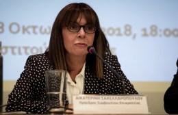 Αικατερίνη Σακελλαροπούλου: Η πρόταση Μητσοτάκη για Πρόεδρος Δημοκρατίας