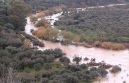 """Καταστροφές από την επέλαση του """"Ηφαιστιώνα"""" στην Κρήτη"""