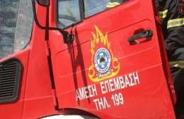 Πυρκαγιά σε αυτοκίνητο και  αποθήκη στο Λαράνι