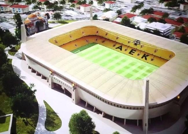 Στην τελική ευθεία μπαίνει το νέο γήπεδο της ΑΕΚ στη Ν. Φιλαδέλφεια