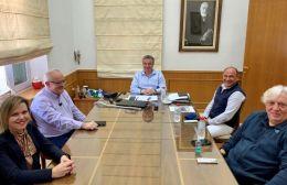 Συνάντηση εργασίας στην Περιφέρεια Κρήτης