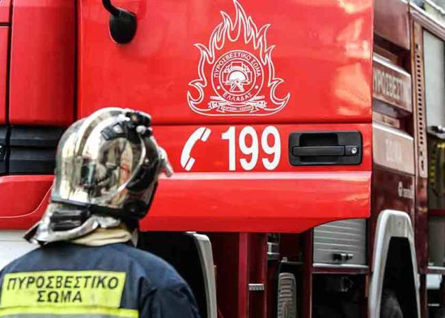 Yψηλός είναι σήμερα ο κίνδυνος εκδήλωσης πυρκαγιάς στην Κρήτη
