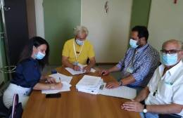 Yπεγράφη συμφωνητικό συνεργασίας ανάμεσα σε ΠΑΓΝΗ και Ηλιαχτίδα