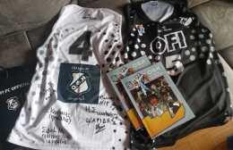 Pic | Η ομάδα μπάσκετ του ΟΦΗ έστειλε φανέλες στον σύνδεσμο της Γερμανίας!