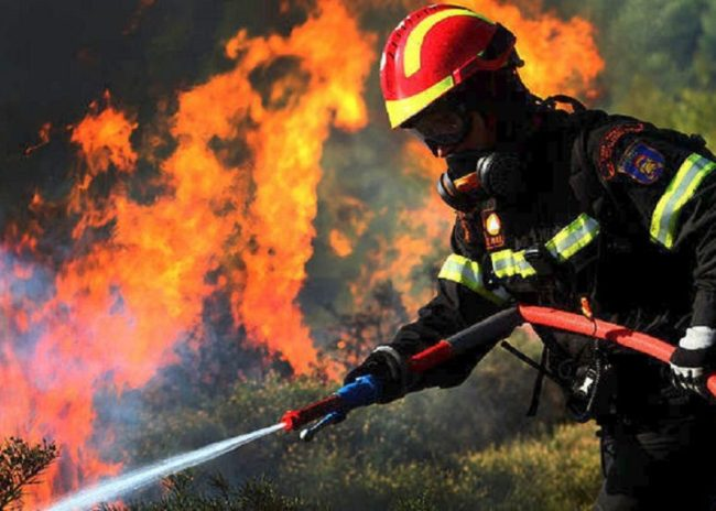 Πολύ υψηλός ο κίνδυνος εκδήλωσης πυρκαγιάς στην Κρήτη