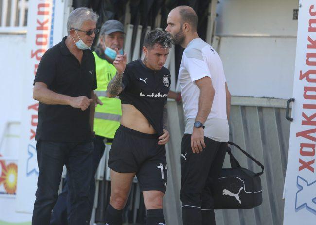 Φιλικό με ζημίες για τον ΟΦΗ – αποχώρησαν τραυματίες Σολίς, Μαρινάκης!