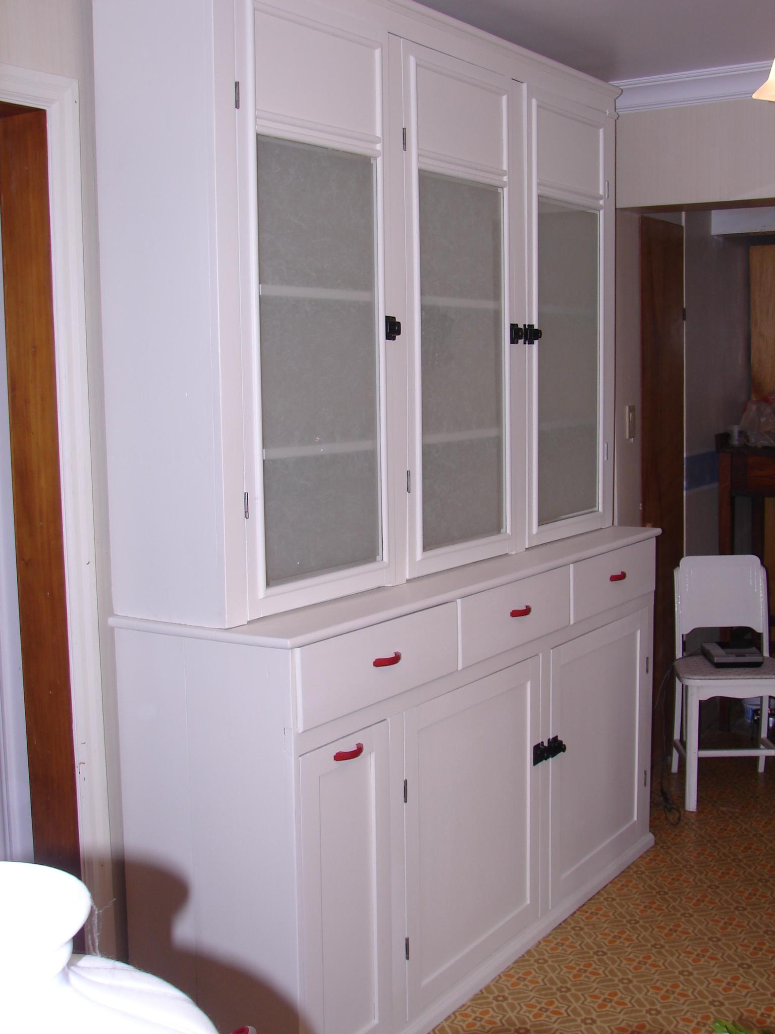 Painted 1940s Kitchen Cabinet  Gentle Hands Restoration