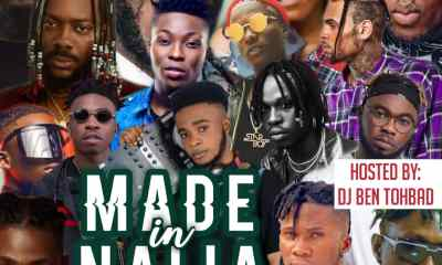 Dj Ben Toh Bad - Made In Naija Mixtape