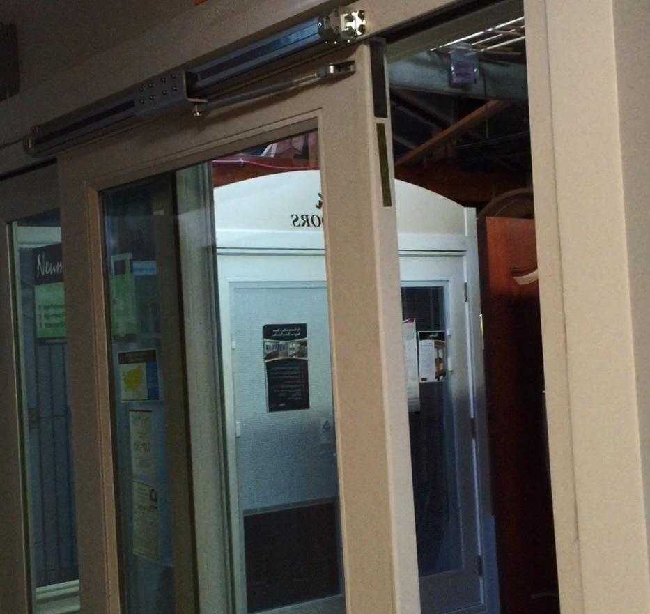 gentleman rodless air powered patio door opener
