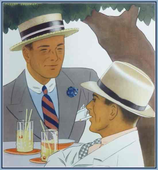 Raja Panama Hat 1934