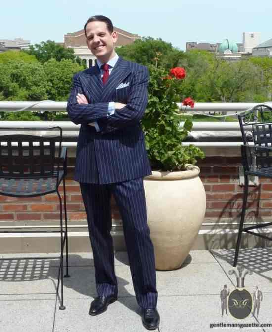 Chalk Stripe Suit Ralph Lauren Purple Label 1