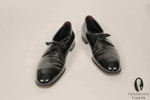 Elegant Florsheim evening shoes as worn by Harry S. Truman